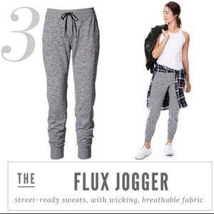Athleta Flux Joggers Mottled Grey